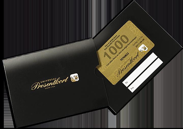 universal gavekort hvor kan det brukes